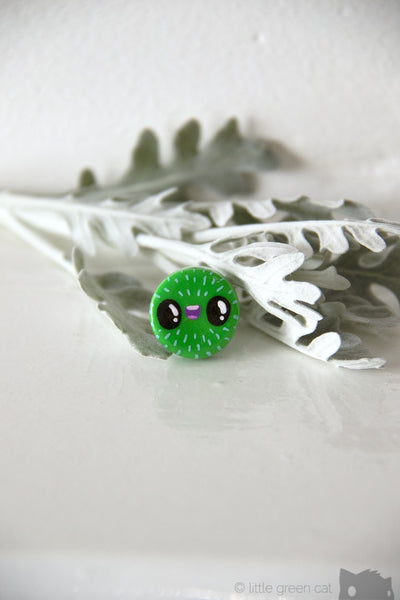 Jimbob Gooseberry Handpainted Polymer Clay Pin Accessories