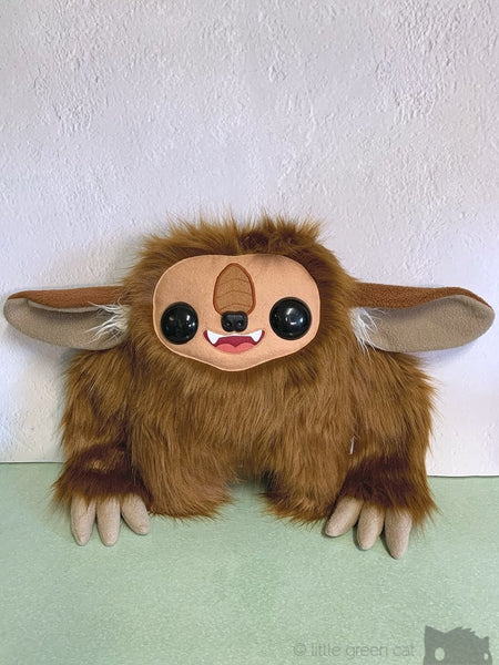 Nightbeest - Brown Large Eared Plush Forest Creature Plush