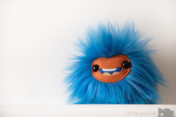 Sebbe The Sprite Squeaking Round Plush Monster Companion Plush