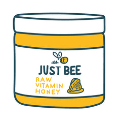 Just Bee Raw Vitamin Honey