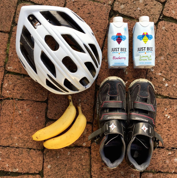 honey water and cycling