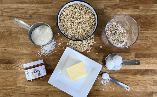 Honey Flapjack Recipe Ingredients