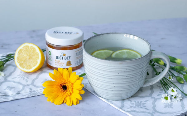 Natural hayfever remedy with honey