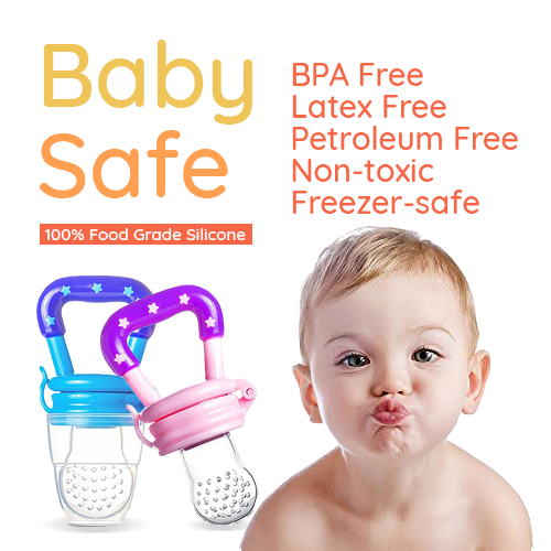 Baby Safe Food Pacifier