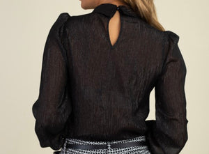 Black Out Blouse