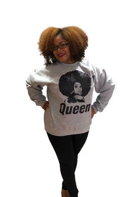 Queen Shimmer Sweatshirt