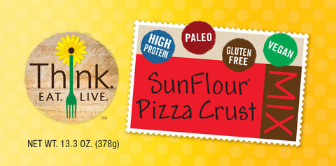 Paleo SunFlour Pizza Crust Mix