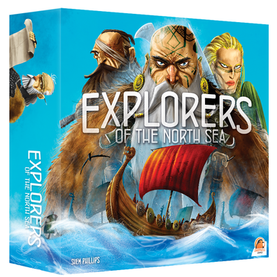 NZ Made & Created Games, Explorers of the North Sea