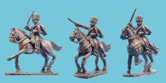 French Hussar Elites Charging