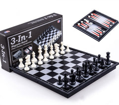 Magentic 3-in-1 Game Set - 14 Inch