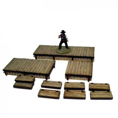 Hobby Supplies, 28mm Terrain: Boardwalks