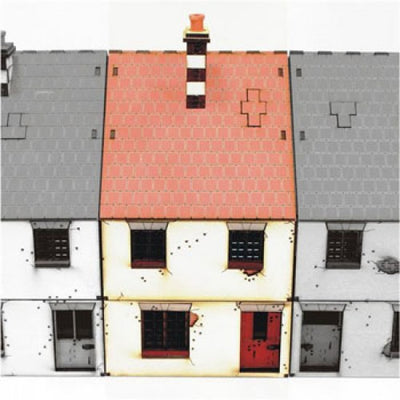 Hobby Supplies, 28mm Terrain: Mid Terrace-House Type 1