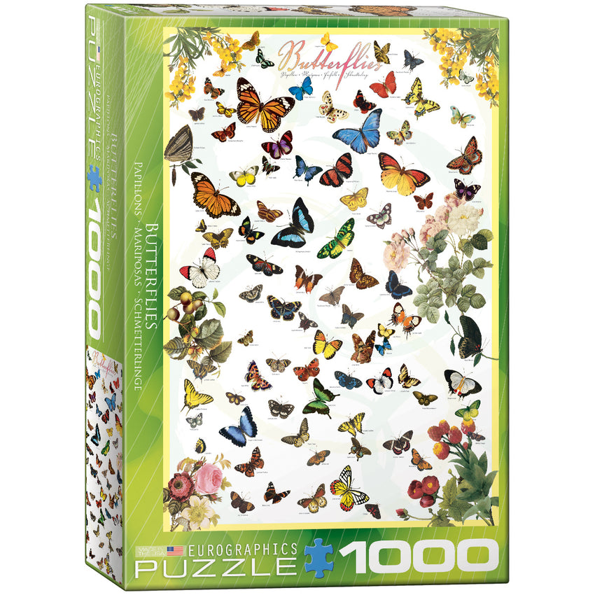 Butterflies - 1000pc