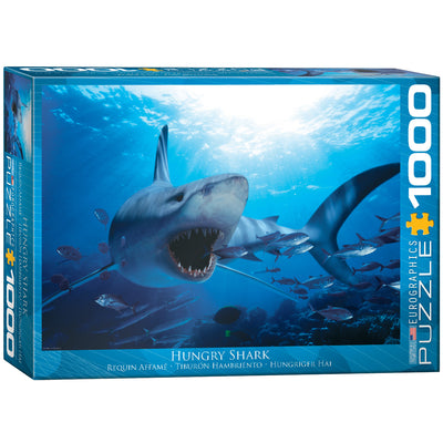 Jigsaw Puzzles, Hungry Shark - 1000pc