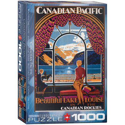 Jigsaw Puzzles, Beautiful Lake Louise - 1000pc