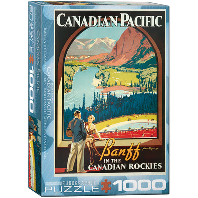 Jigsaw Puzzles, Banff in the Canadian Rockies - 1000pc