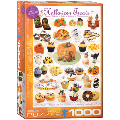 Jigsaw Puzzles, Halloween Treats - 1000pc