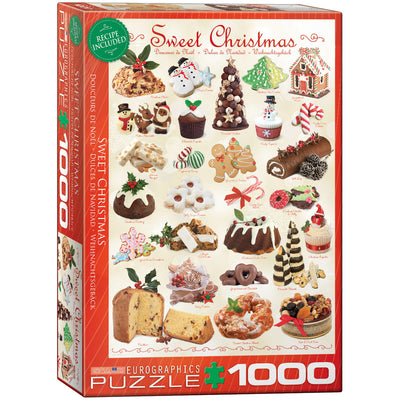 Jigsaw Puzzles, Sweet Christmas - 1000pc