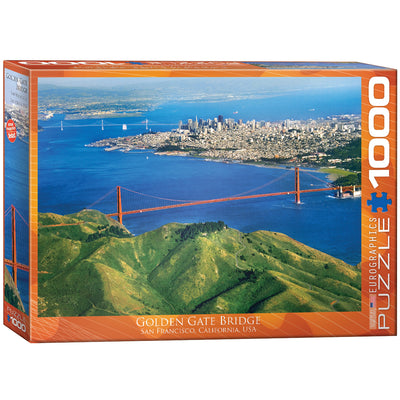 Jigsaw Puzzles, Golden Gate Bridge California - 1000pc