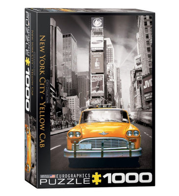 Jigsaw Puzzles, New York City Yellow Cab - 1000pc