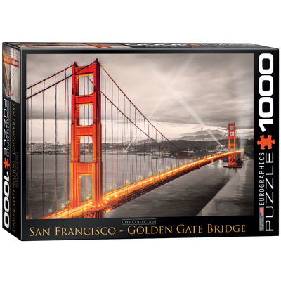 Jigsaw Puzzles, Golden Gate Bridge - 1000pc