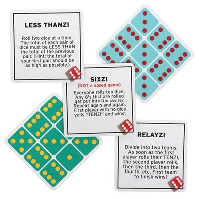 Board Games, 77 Ways to Play TENZI