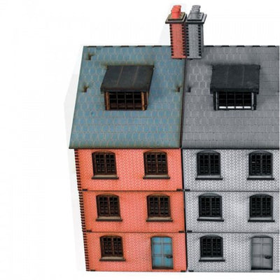 Hobby Supplies, 28mm Terrain: Victorian White Chapel to Baker Street End Terrace House