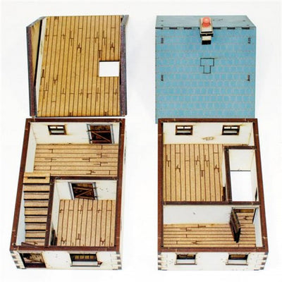 Products, 28mm Terrain: Detached House - Type 1