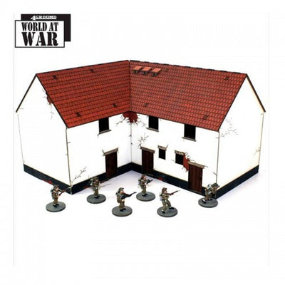 Hobby Supplies, 28mm Terrain: Lofted Corner Stables