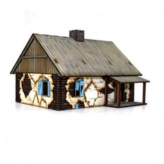 28mm Terrain: Russian Rural Cottage