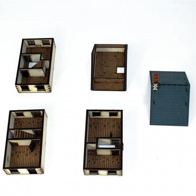 Hobby Supplies, 28mm Terrain: Three Storey Detached