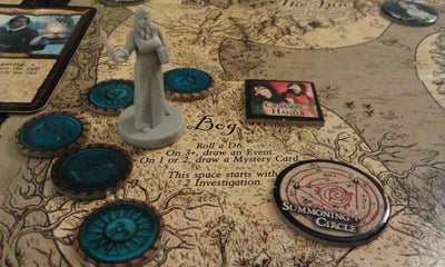 Board Games, A Touch of Evil: The Supernatural Game