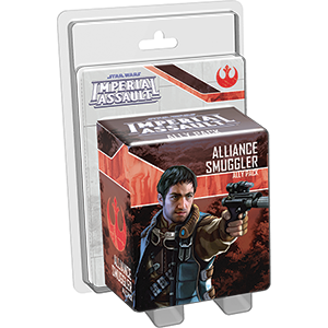 Miniatures, Star Wars Imperial Assault: Alliance Smuggler Ally Pack