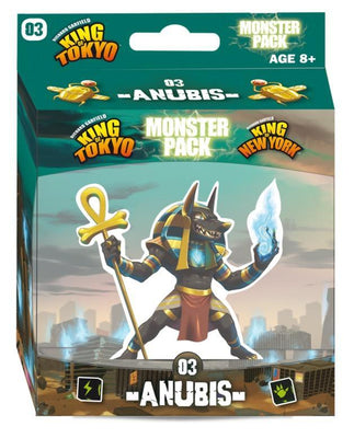 Board Games, King of Tokyo/New York: Anubis Monster Pack