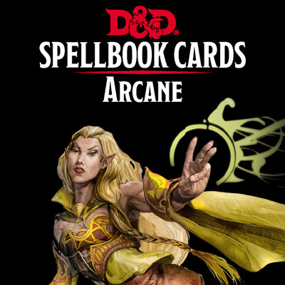 Role Playing Games, Spellbook Cards: Arcane