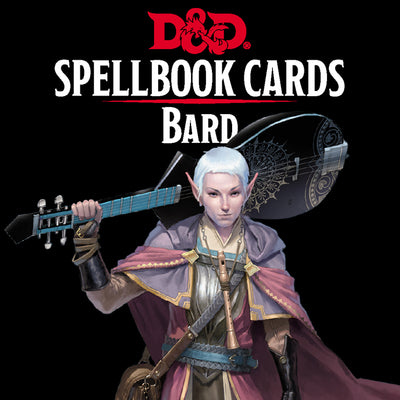 Role Playing Games, Spellbook Cards: Bard