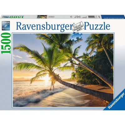 Jigsaw Puzzles, Beach Hideaway - 1500pc