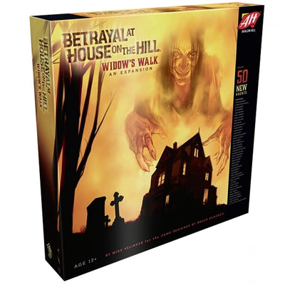 Board Games, Betrayal at House on the Hill: Widows Walk