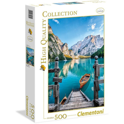 Jigsaw Puzzles, Braies Lake - 500pc