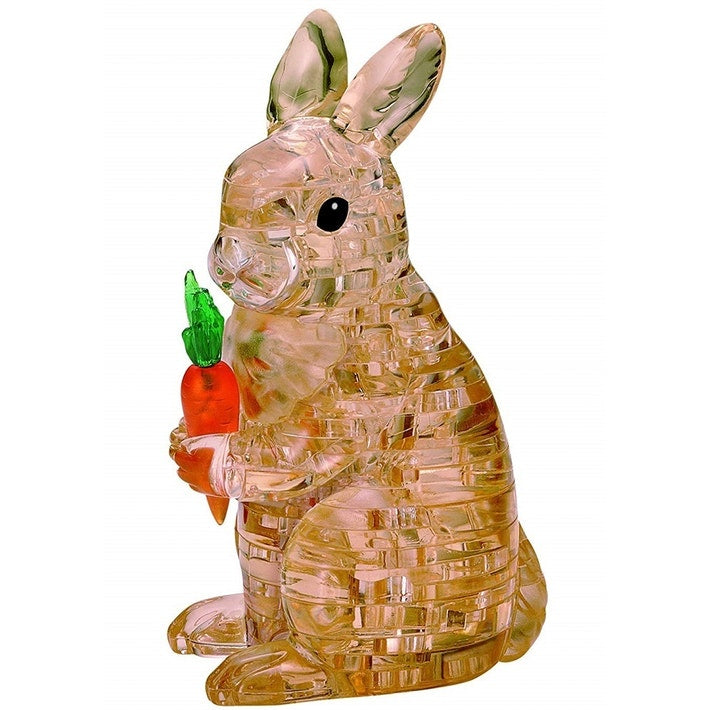 BROWN RABBIT CRYSTAL PUZZLE
