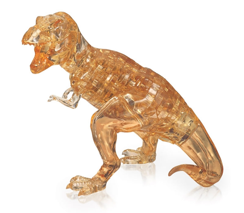 GOLDEN T-REX CRYSTAL PUZZLE