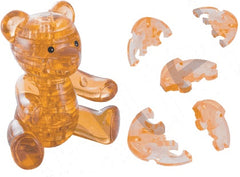 BROWNTEDDY BEAR CRYSTAL PUZZLE