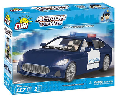 COBI - Construction Blocks, Action Town: Police Hghway Patrol - 117pc