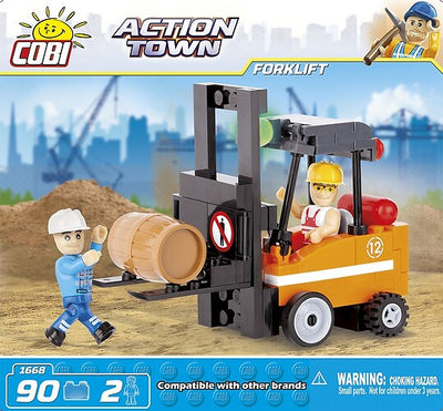COBI - Construction Blocks, Action Town: Forklift - 90pc