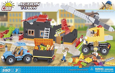 COBI - Construction Blocks, Action Town: Demolition Site - 590pc