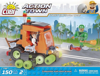 COBI - Construction Blocks, Action Town: Street Sanitation Crew - 150pc