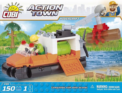 COBI - Construction Blocks, Action Town: Hovercraft - 150pc