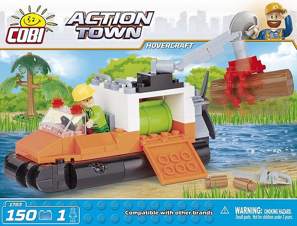 Action Town: Hovercraft - 150pc