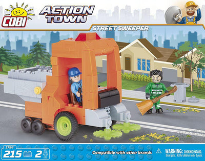COBI - Construction Blocks, Action Town: Street Sweeper - 215pc