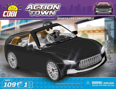 Action Town: Sports Car Convertible Cobra - 109pc